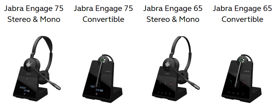 New Jabra Engage Series Dect Wireless Headsets Lexair